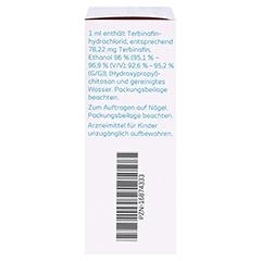 Terbinafin-1A Pharma Nagellack gegen Nagelpilz 78,22mg/ml 6.6 Milliliter N2 - Linke Seite