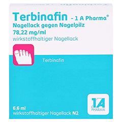 Terbinafin-1A Pharma Nagellack gegen Nagelpilz 78,22mg/ml 6.6 Milliliter N2 - Vorderseite
