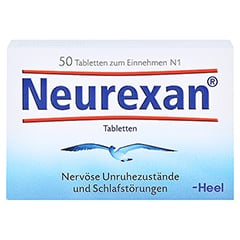 Neurexan 50 Stück N1 - Vorderseite