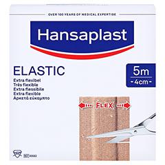 HANSAPLAST Elastic Pflaster 4 cmx5 m 1 Stück - Vorderseite