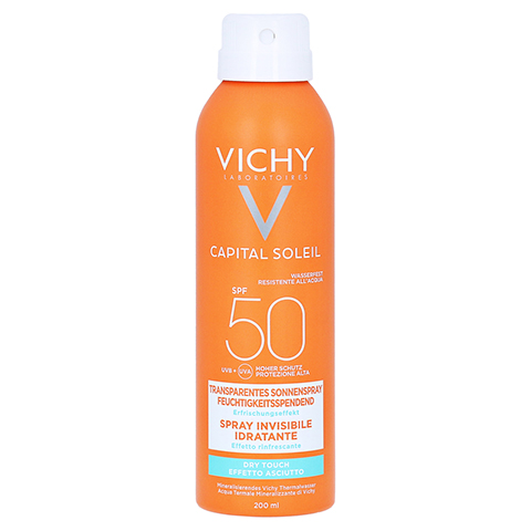 VICHY IDEAL SOLEIL Transp.Sonnenspray LSF 50 200 Milliliter