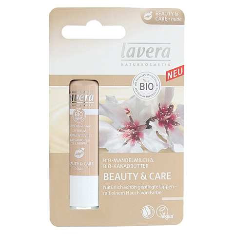 LAVERA Lippenbalsam beauty & care nude 4.5 Gramm