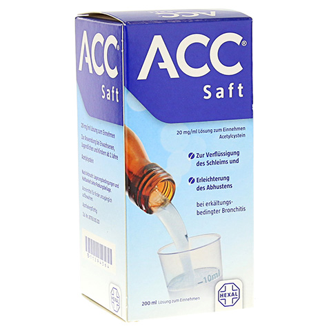 ACC Saft 20mg/ml 200 Milliliter N3