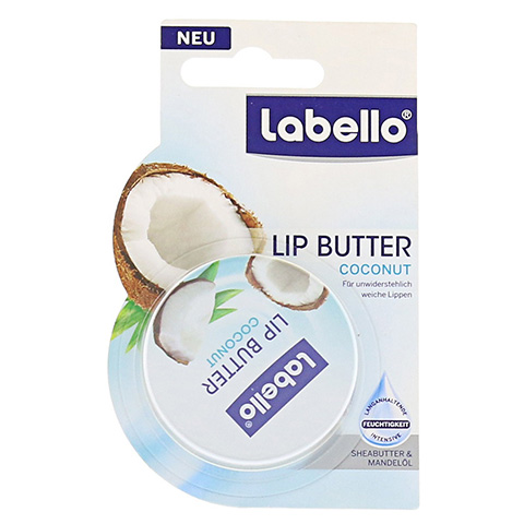 LABELLO Lip Butter coconut Balsam 17 Gramm