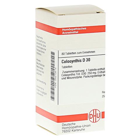 COLOCYNTHIS D 30 Tabletten 80 Stück