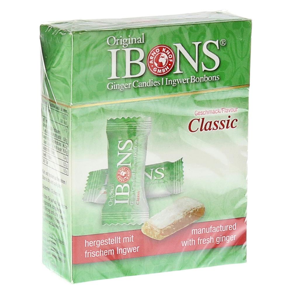 ibons-classic-ingwerkaubonbons-schachtel-60-gramm