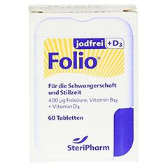 FOLIO jodfrei+D3 Filmtabletten 60 Stück - Vorderseite