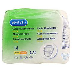 ALVITA Inkontinenz Pants super medium 14 Stück - Vorderseite