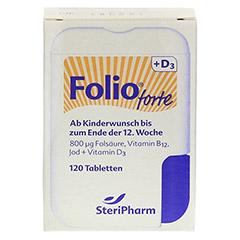FOLIO forte+D3 Filmtabletten 120 Stück - Vorderseite