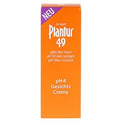 PLANTUR 49 pH4 Gesichts-Creme 50 Milliliter - Vorderseite