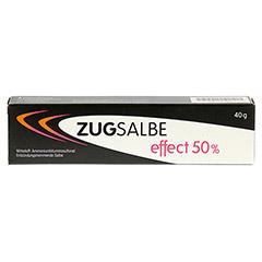 ZUGSALBE effect 50% Salbe 40 Gramm N1 - Vorderseite