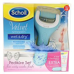 SCHOLL Velvet smooth Pedi wet & dry Vorteilspack 1 Packung - Vorderseite