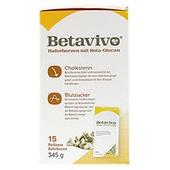 BETAVIVO mit Beta-Glucan aus Hafer 15x23 Gramm - Linke Seite