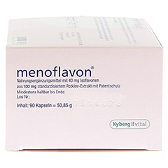 MENOFLAVON 40 mg Kapseln 90 Stück - Linke Seite