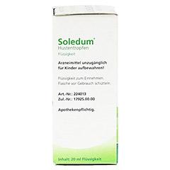 Soledum Hustentropfen 20 Milliliter - Linke Seite