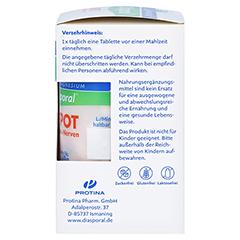 Magnesium Diasporal Depot Muskel und Nerven Tabletten 30 Stück - Rechte Seite