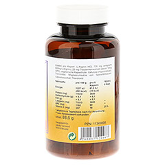 L-ARGININ+OPC 600 mg Kapseln 100 Stück - Rechte Seite