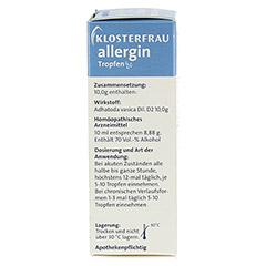 KLOSTERFRAU Allergin flüssig 30 Milliliter - Rechte Seite