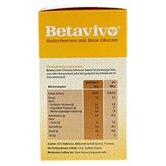 BETAVIVO mit Beta-Glucan aus Hafer 15x23 Gramm - Rechte Seite