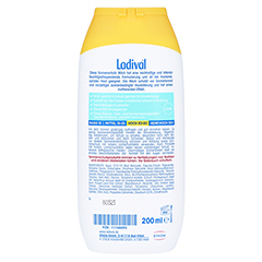 LADIVAL trockene Haut Milch LSF 30 200 Milliliter - Rückseite