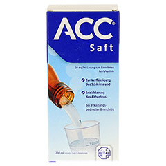 ACC Saft 20mg/ml 200 Milliliter N3 - Rückseite