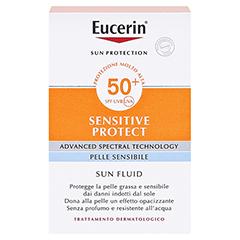EUCERIN Sun Fluid mattierend LSF 50+ 50 Milliliter - Rückseite