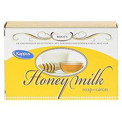 KAPPUS Honigmilch Seife 50 Gramm - Rückseite