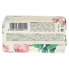 KAPPUS Florosa peony bed Seife 150 Gramm - Rückseite