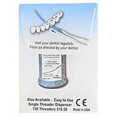 BRIDGE Aid Zahnseideneinfädler 10 Stück - Rückseite