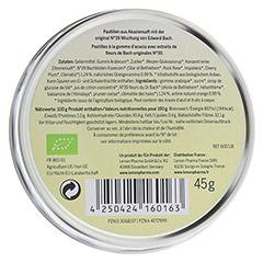 Für alle Fälle Bachblüten No. 30 Pastillen Bio 45 Gramm - Rückseite