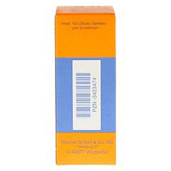 NUX VOMICA COMP.SE Tabletten 100 Stück N1 - Rückseite