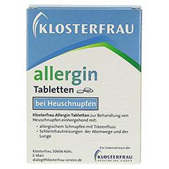KLOSTERFRAU Allergin Tabletten 50 Stück - Rückseite