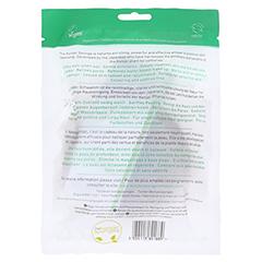 Konjac Gesichtsschwamm - Grüner Tee 1 Stück - Rückseite