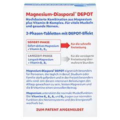 Magnesium Diasporal Depot Muskel und Nerven Tabletten 30 Stück - Rückseite