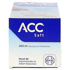 ACC Saft 20mg/ml 200 Milliliter N3 - Unterseite