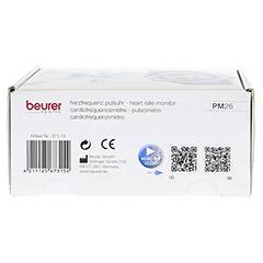BEURER PM26 Pulsuhr 1 Stück - Unterseite