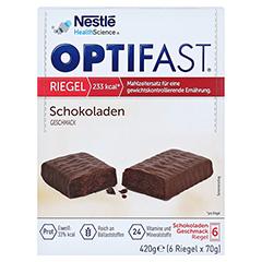 Optifast Riegel Schokolade 6x70 Gramm - Vorderseite