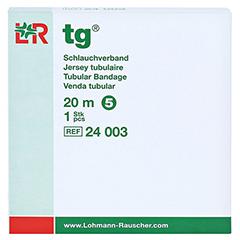 TG Schlauchverband Gr.5 20 m weiß 1 Stück - Vorderseite