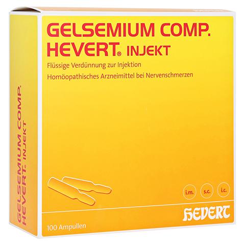 GELSEMIUM COMP.Hevert injekt Ampullen 100 Stück N3