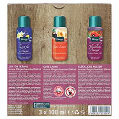 KNEIPP Geschenkpackung Happy Bathtime 3x100 Milliliter - Rückseite