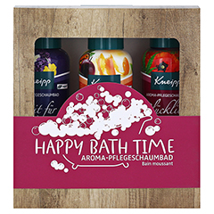 KNEIPP Geschenkpackung Happy Bathtime 3x100 Milliliter - Vorderseite