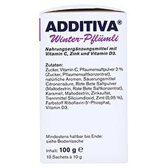 ADDITIVA Winter-Pflümli Pulver 100 Gramm - Linke Seite