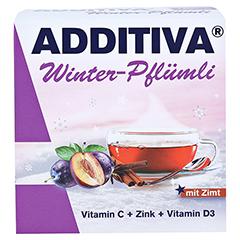 ADDITIVA Winter-Pflümli Pulver 100 Gramm - Vorderseite