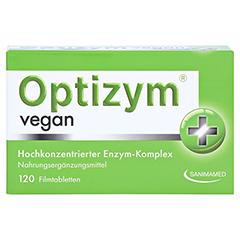 OPTIZYM vegan Filmtabletten 120 Stück - Vorderseite