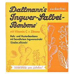 DALLMANN'S Ingwer Salbei Bonbons 37 Gramm - Vorderseite