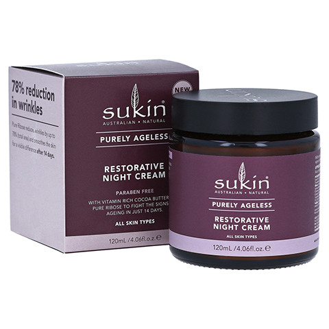 SUKIN Purely Ageless restorative night Cream 120 Milliliter