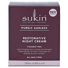 SUKIN Purely Ageless restorative night Cream 120 Milliliter - Vorderseite