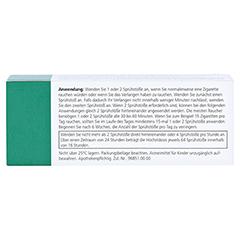 NICORETTE Mint Spray 1 mg/Sprühstoß 1 Stück - Rückseite