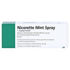 NICORETTE Mint Spray 1 mg/Sprühstoß 1 Stück - Vorderseite