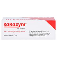 Karazym Magensaftresistente Tabletten 100 Stück - Oberseite